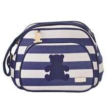 Bolsa Maternidade Bebê Ursinho Azul Pequena