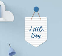 Flâmula Infantil Bebê Menino Little Boy