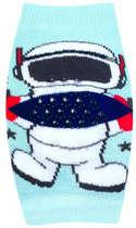 Joelheira Recém-Nascido Astronauta Azul Pimpolho