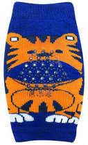 Joelheira Recém-Nascido Tigre Azul Marinho Pimpolho