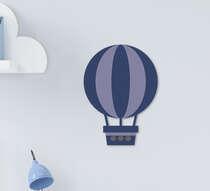 Placa Infantil Mdf Menino Balão Azul