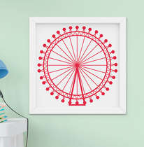 Quadro Infantil Londres Big Eye