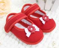 Sapato Florzinha Vermelho Keto