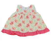 Vestido Com Calcinha Mimo Floral Rosa