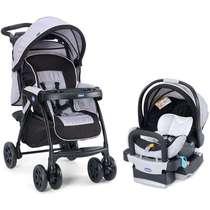 Carrinho de Bebê + Bebê Conforto com Base Duo Today Anthracite Chicco
