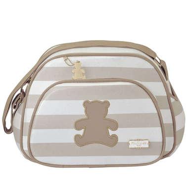 Bolsa Maternidade Bebê Ursinho Marfim Pequena