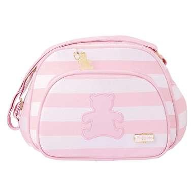 Bolsa Maternidade Bebê Ursinho Rosa Pequena