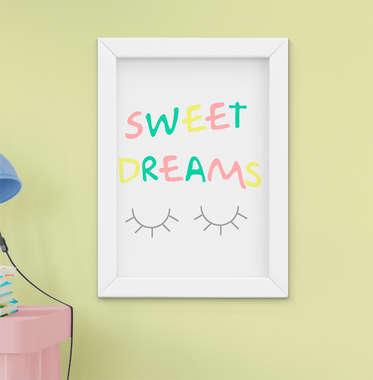 Quadro Infantil Sweet Dreams