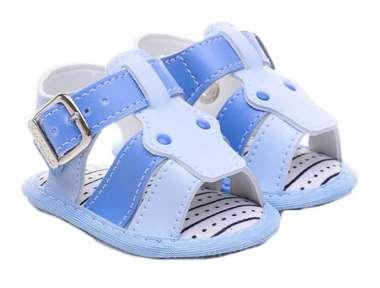 Sandália Bebê Menino Mimo Azul