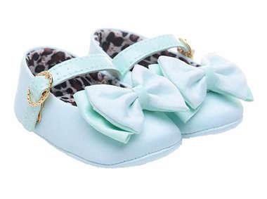 Sapato Bebê Menina Top Baby Verde