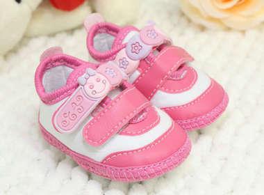 Tênis Bebê Menina Bonequinha Rosa Pink