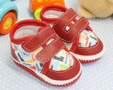 Tênis Bebê Menino Colorê Vermelho