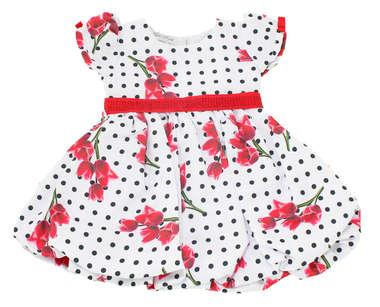 Vestido Bebê Denver Vermelho