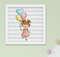 Quadro Infantil Bebê Menina Santo Anjo Sonhe Alto