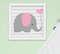 Quadro Infantil Menina Elefante Antes Tínhamos Um ao Outro Kit 4 Peças